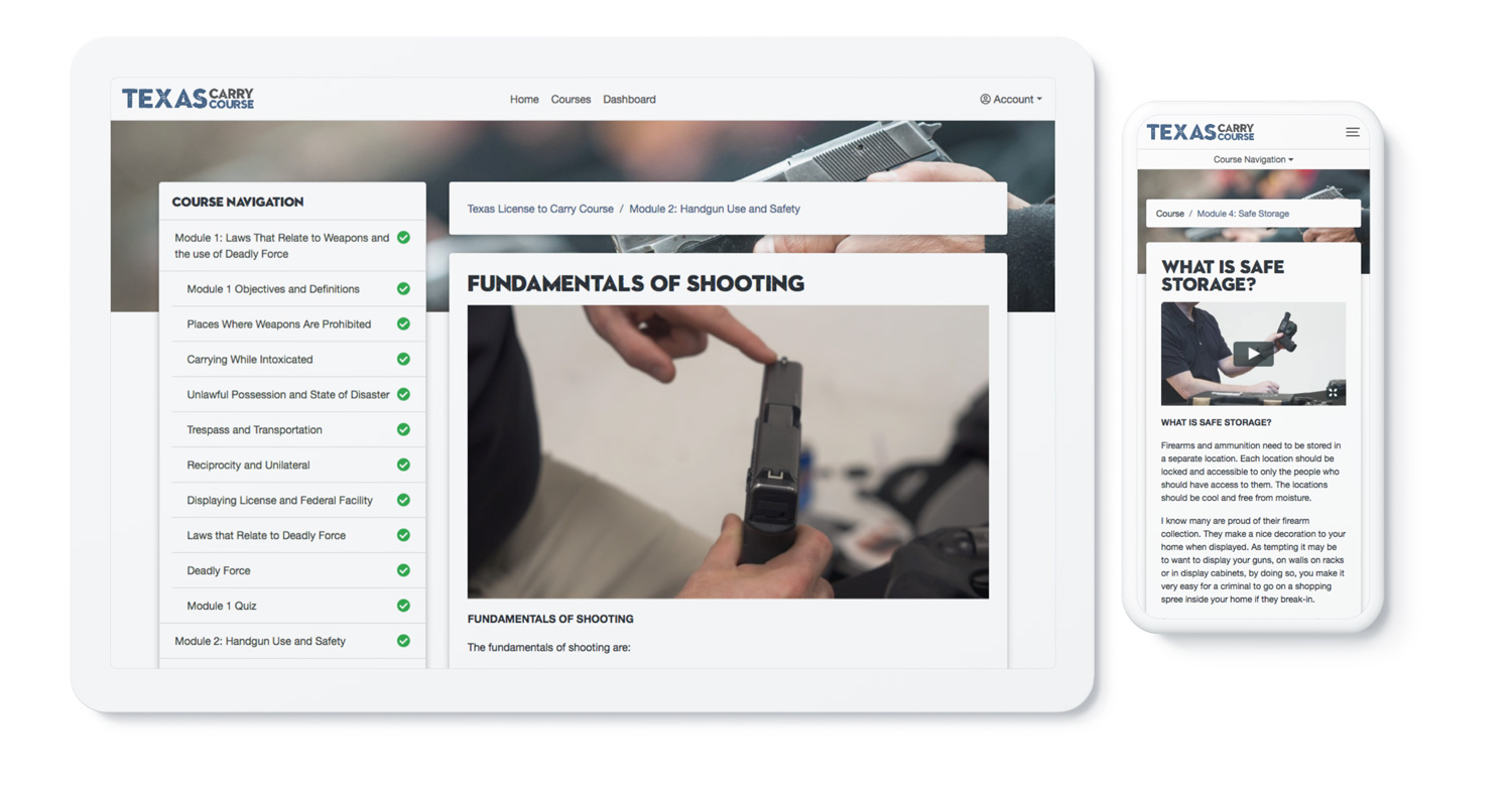 License to Carry a Handgun Online